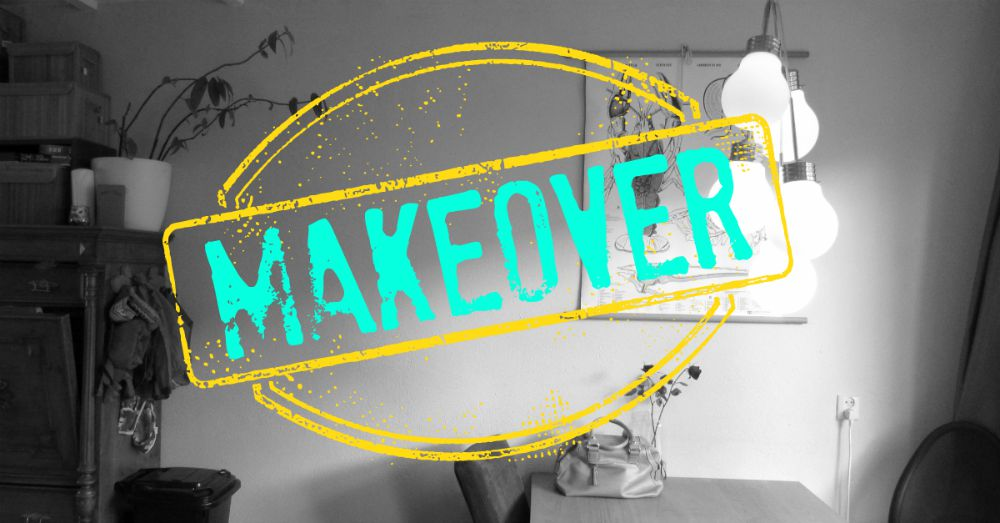 Woonkamer makeover - LeesVoer